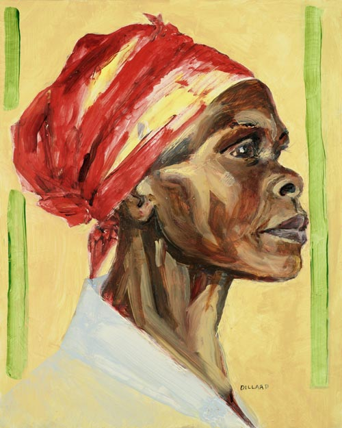 African Woman, a painting by Annie Dillard